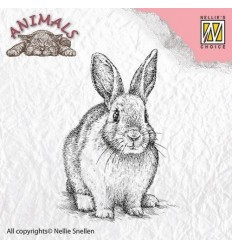 Clear Stamp Rabbit - Nellie Snellen