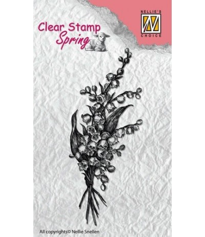 Clear Stamp Bouquet - Nellie Snellen