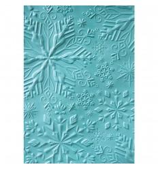 Prägeschablone 3D Winter Snowflakes - Sizzix
