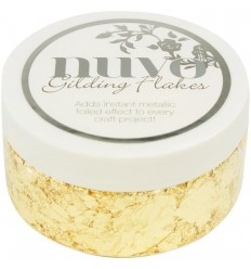 Gilding Flakes Radiant Gold - Nuvo