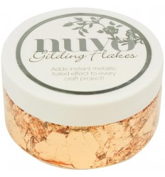 Gilding Flakes Sunkissed Copper - Nuvo