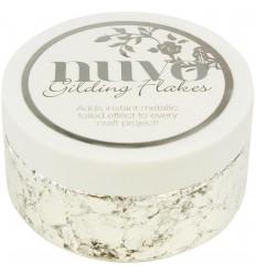 Gilding Flakes Silver Bullion - Nuvo