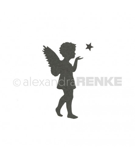 Stanzschablone Engel mit Stern - Alexandra Renke