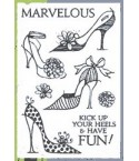 Clear Stamps High Heels