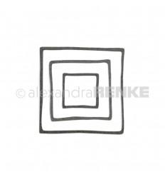 Stanzschablone Rahmen-Quadrat - Alexandra Renke