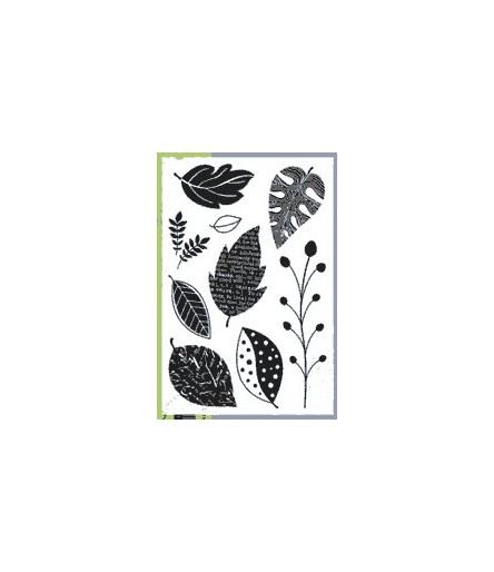 Hero Arts Clear Stamps Scattered Leaves