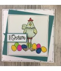 Frohe Ostern Stempel - Big Time