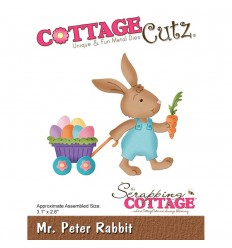 Stanzschablone Mr. Peter Rabbit - Cottage Cutz
