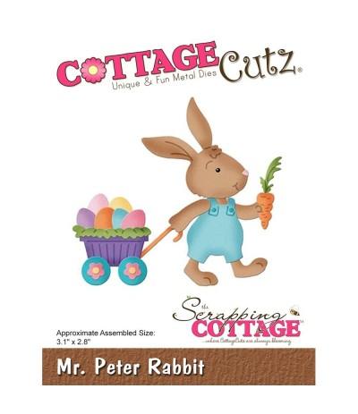 Stanzschablone Mr. Peter Rabbit - Cottage Cutz