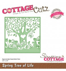 Stanzschablone Spring Tree of Life - Cottage Cutz