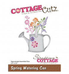 Stanzschablone Spring Watering Can - Cottage Cutz