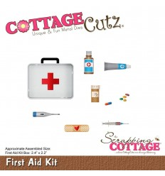 Stanzschablone First Aid Kit - Cottage Cutz