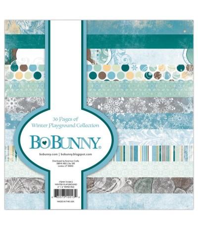 "Scrapbooking Papier Winter Playground, 6"" x 6"" - BoBunny"