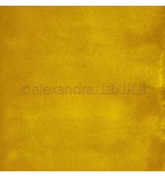 Scrapbooking Papier Mimis Kollektion Aquarell Senf - Alexandra Renke