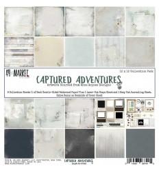 Scrapbooking Papier Captured Adventures, 12 Inch - 49 and Market