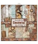 Scrapbooking Papier Clockwise, 12 Inch - Stamperia