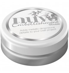 Embellishment Mousse Pure Platinum - Nuvo