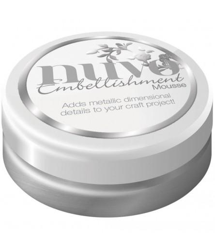 Embellishment Mousse Pure Platinum - Nuvo