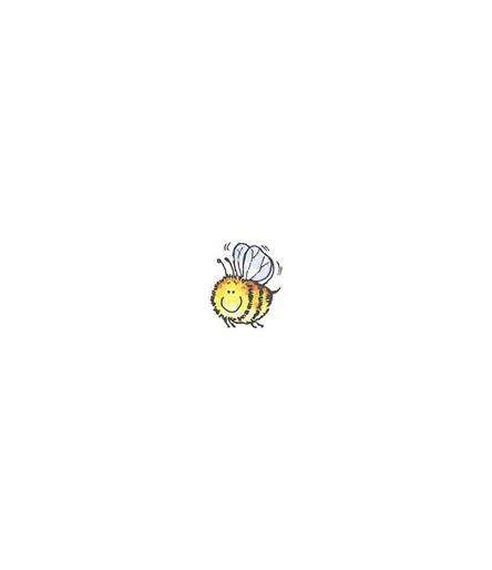 Biene Honey Stempel