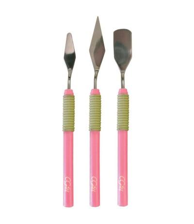 Spatel 3er Set, pink - CGull