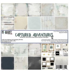 Scrapbooking Papier Captured Adventures, 6 Inch - 49 Market