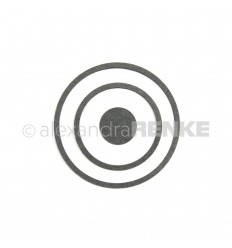 Stanzschablone Kreis-Rahmen - Alexandra Renke