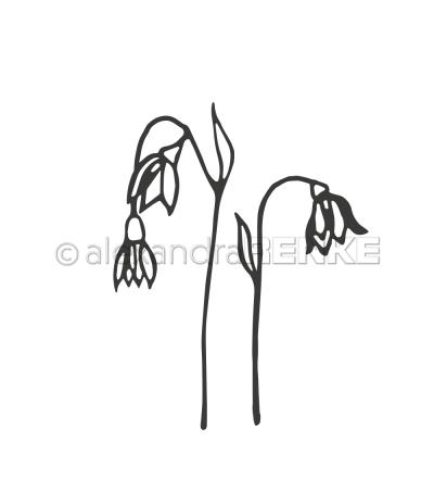Stanzschablone Frühlingsblumen - Alexandra Renke