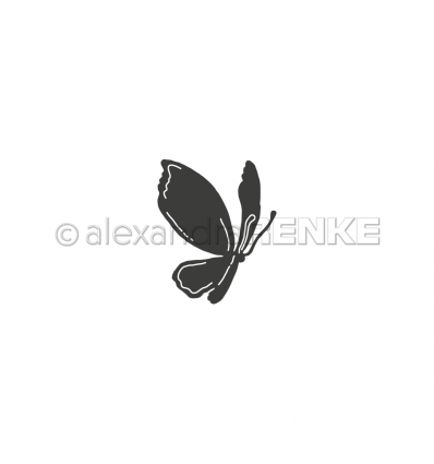 Stanzschablone Zauberschmetterling - Alexandra Renke