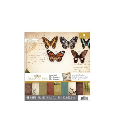"Scrapbooking Papier Field Study, 12"" X 12"" - Paper House"