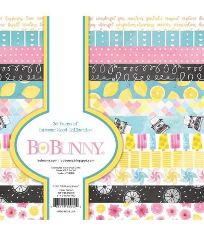 Scrapbooking Papier Summer Mood - BoBunny