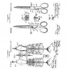 Cling Stempel Inventor 3 - Tim Holtz