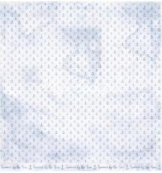 Scrapbooking Papier - Summertime- Glittering Water - Maja Design