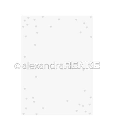 Prägeschablone Herzenregen - Alexandra Renke