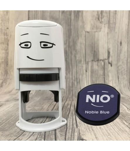 NIO Stempel Starterset - Noble blue