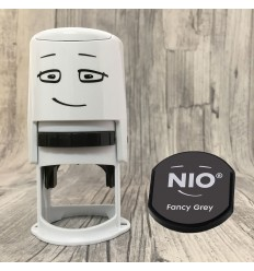 NIO Stempel Starterset - Fancy Grey