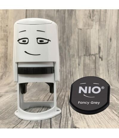 NIO Stempel Starterset - Fancy Grey