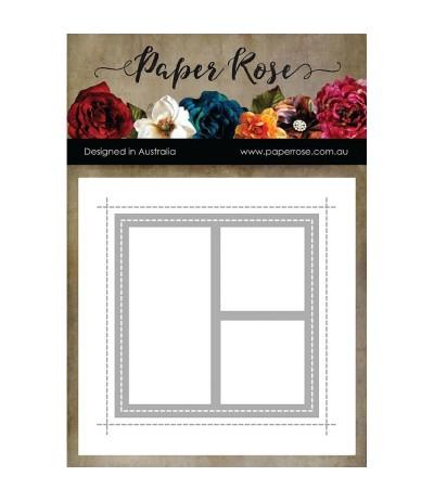 Stanzschablone Card Creator 1 - Papper Rose