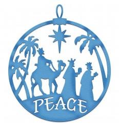 Stanzschablone Three Kings Peace Ornament - Cottage Cutz