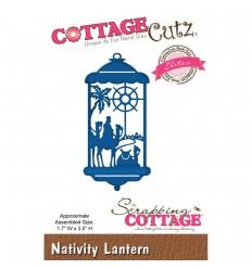 Stanzschablone Nativity Lantern - Cottage Cutz