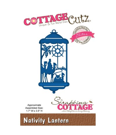 Stanzschablone Nativity Lantern - Cottage Cutz