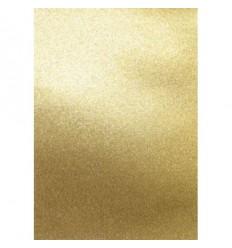 Glitter Papier gold, selbstklebend, A4 - Artoz