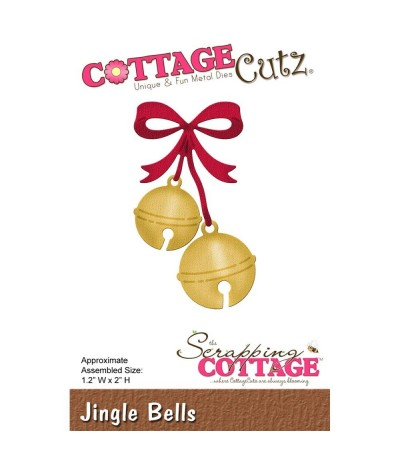 Stanzschablone Jingle Bells - Cottage Cutz