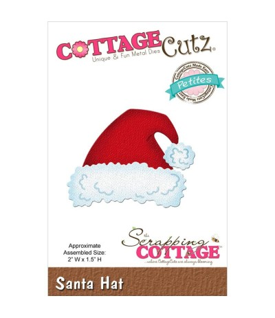 Stanzschablone Santa Hat - Cottage Cutz