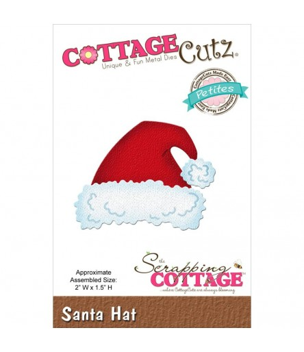 Stanzschablone Santa Hat - Cottage Cutz