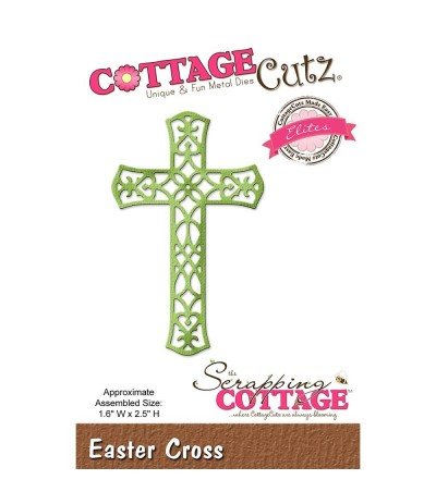 Stanzschablone Easter Cross - Cottage Cutz