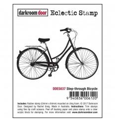 Cling Stempel Fahrrad - Darkroom Door