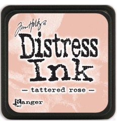 Distress Ink Mini Stempelkissen Tattered Rose - Tim Holtz