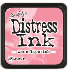 Distress Ink Mini Stempelkissen Worn Lipstick - Tim Holtz