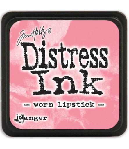 Worn Lipstick Distress Kissen & Nachfüllfarbe von Tim Holzim Holz