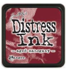 Distress Ink Mini Stempelkissen Aged Mahogany - Tim Holtz